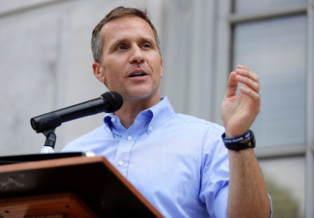 Gov. Greitens reveals 'adult high schools' could be key to improving Missourians' lives. (AP File Photo)