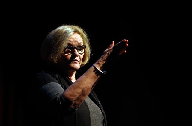 Missouri residents are questioning U.S. Sen. Claire McCaskill during town halls. (AP)