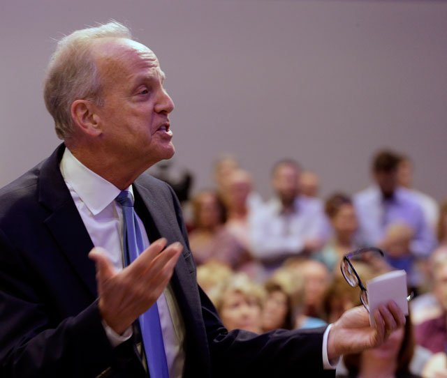 Republican Sen. Jerry Moran is expected to face tough questions about health care at a town hall meeting in a small western Kansas community. (AP)