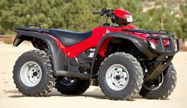 Stock photo of the stolen ATV. (Johnson County Sheriff's Office)