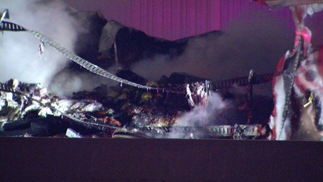 Overland Park police say the driver lost control, hit a barrier and the truck exploded. (KCTV5)