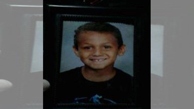 Jusiah Gabhart, 7, was last seen about 6 p.m. in the area of Sixth Avenue and Filmore Street. (Topeka Police)