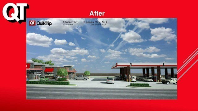 QuikTrip wants a 1.5-acre expansion due to their current location being too small. There is not enough parking and the layout was not designed to handle customer needs, they said. (QuikTrip)