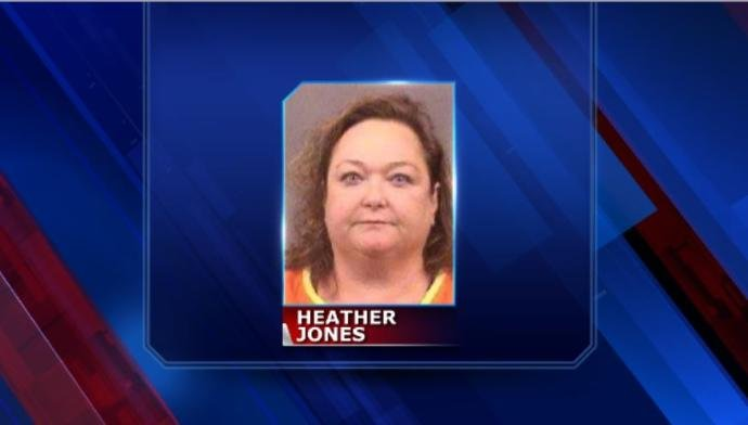 Heather Jones' mugshot. (KWCH)