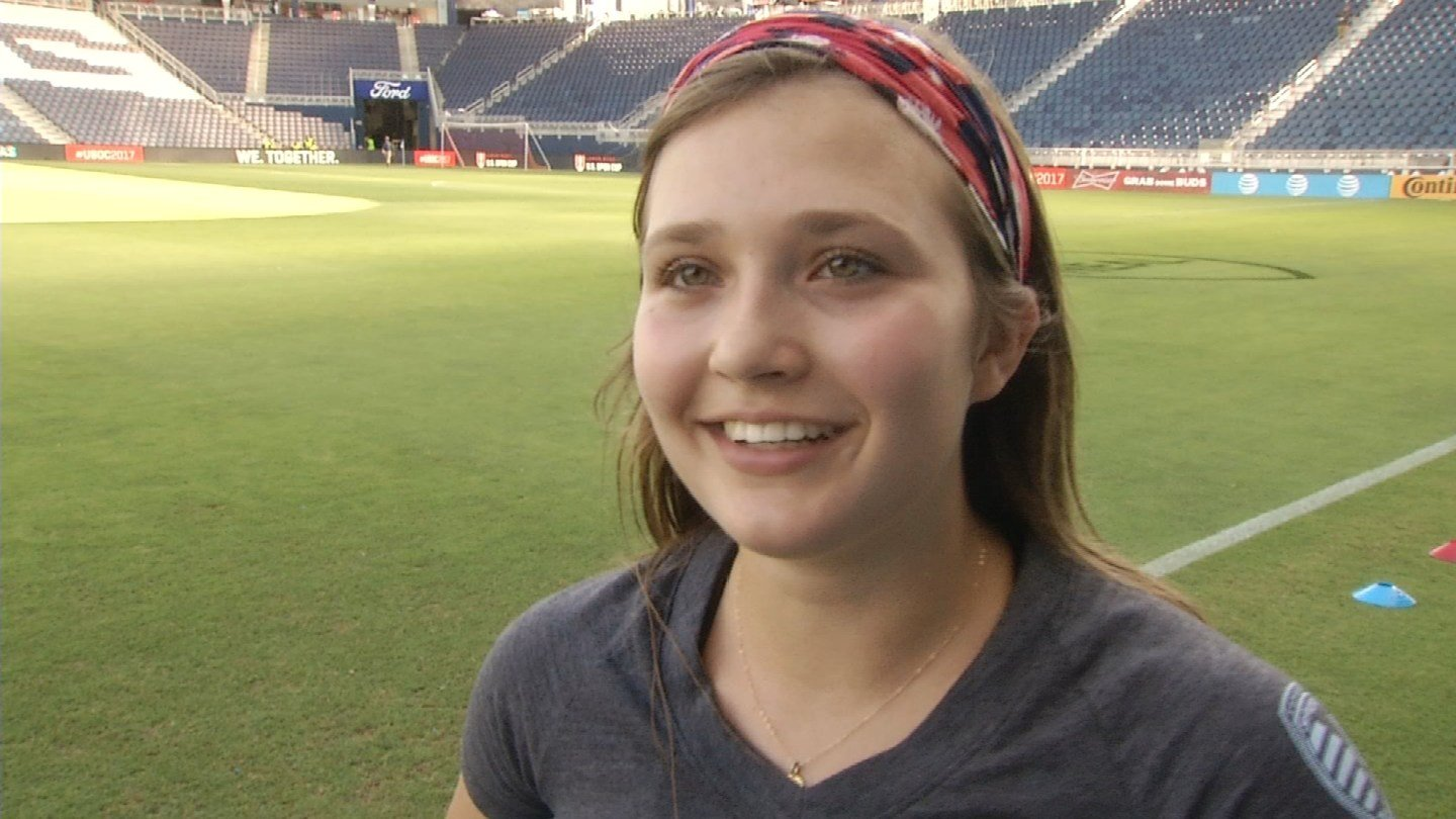 Zoe Trouvehas dealt with heartbreaking injuries, but a Sporting Kansas City staffer is showing her how she can still dedicate her life to soccer without taking the field. (KCTV5)