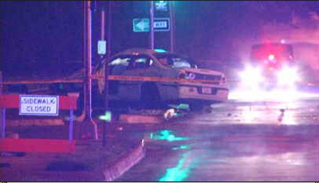 Officers say one of the vehicles ran a stoplight at the intersection but do not know which vehicle it was. (KCTV5)