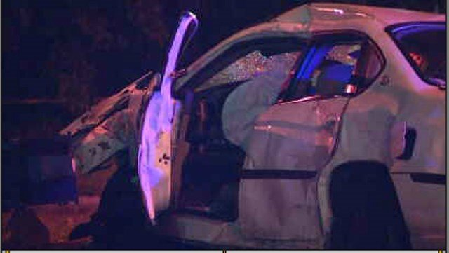 The driver of the sedan is in serious but non-life threatening condition. (KCTV5)