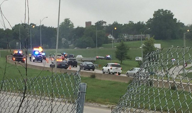 The accident happened about 6:10 a.m. (KCTV5)