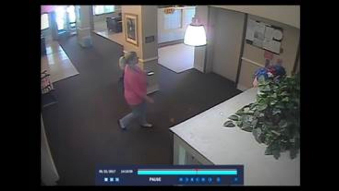 A woman in an assisted living unit says another woman conned her way into her apartment pretending to be a nurse. (Overland Park Police)