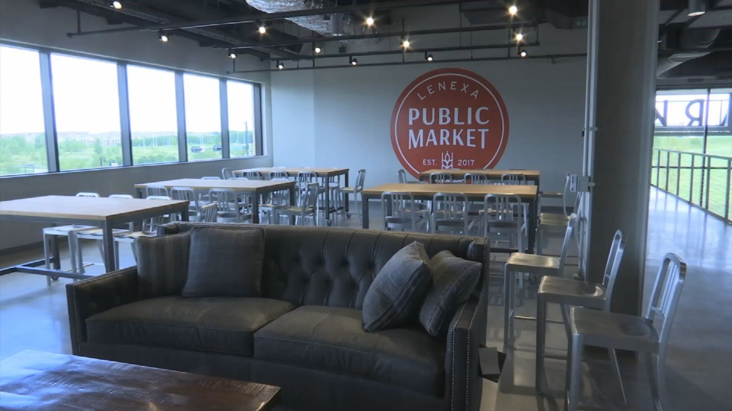 A new downtown Lenexa has been in the making for about 20 years, and its civic campus is finally expected to open at the end of the month. (KCTV5)