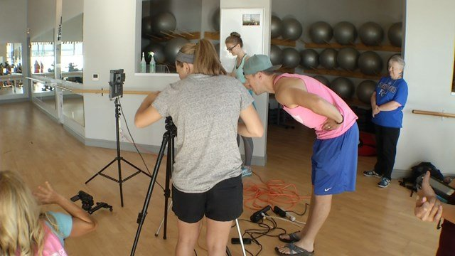 The video, set to be filmed by Sarah Duffy and Variety KC, will be shot at Corbin Park Fusion Fitness. (KCTV5)