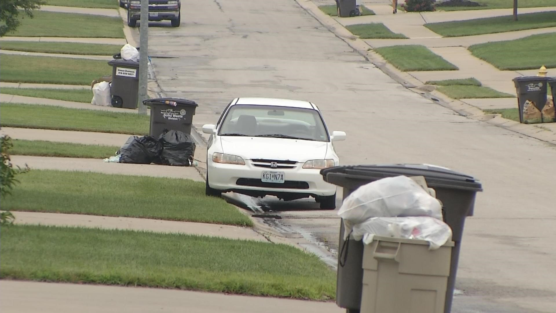 Residents in a Lee's Summit neighborhood can breathe a bit easier now. For more than a week, they say they've been in the dark about their trash not being picked up. (KCTV5)
