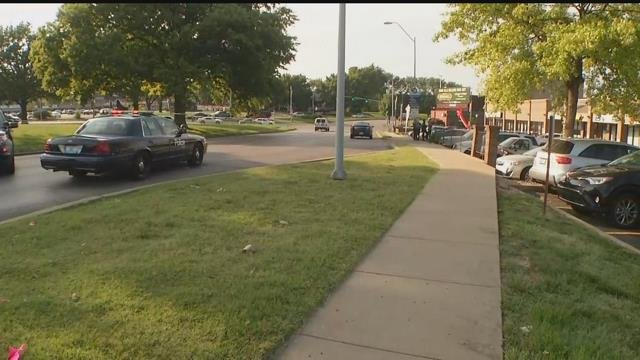 The stabbing happened near a strip mall located at Westport Road and Roanoake Road.(KCTV5)