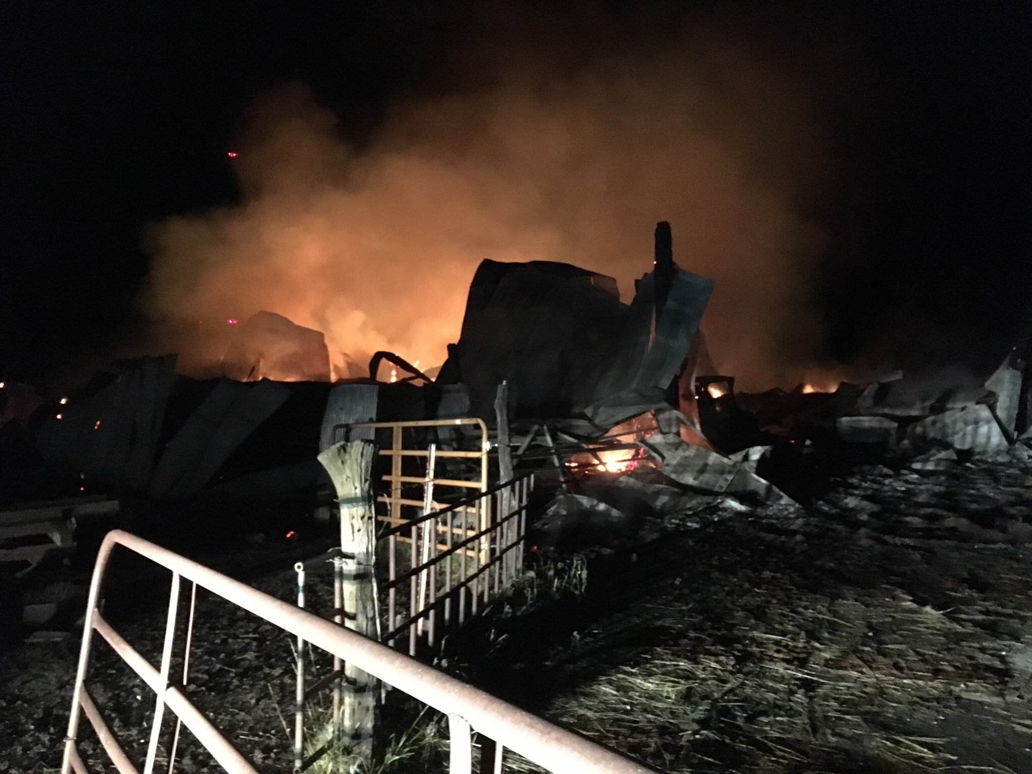 There is a $2,000 reward for information that leads to a conviction after multiple fires on a family's property. (Submitted)