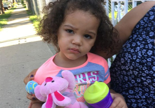 The child was found in the area of 119 N. Drury Ave. in Old Northeast on Thursday morning. (KCPD)
