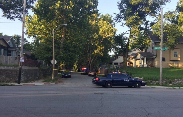Police say the boy found the gun and accidentally shot himself in the leg. (KCTV5)