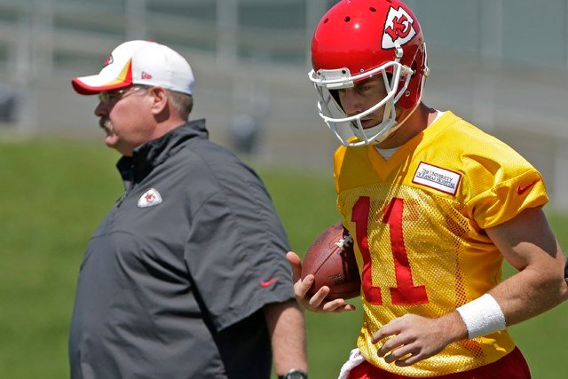 Rookies and quarterbacks report to St. Joseph, MO and the campus of Missouri Western State University on Monday. (AP)