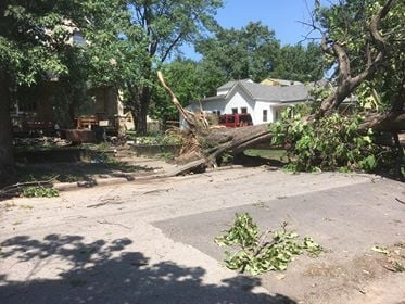 Taken at 12th and Cheyenne in KCK. (Submitted to KCTV5 by Becky Eastwood)