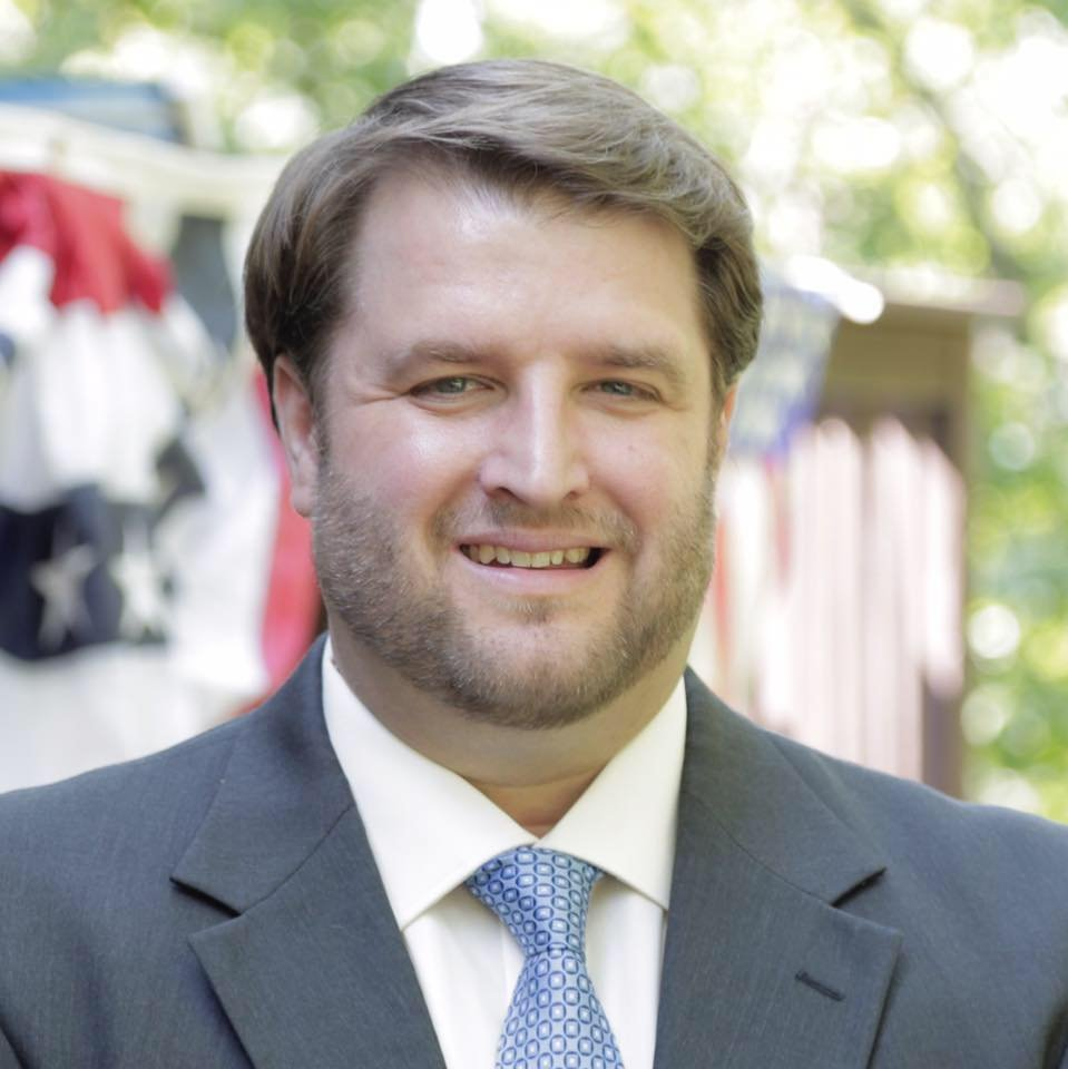 Brent Welder, a labor lawyer, on Monday announced his candidacy for the 3rd Congressional District seat. (Brent Welder for Congress/Facebook)