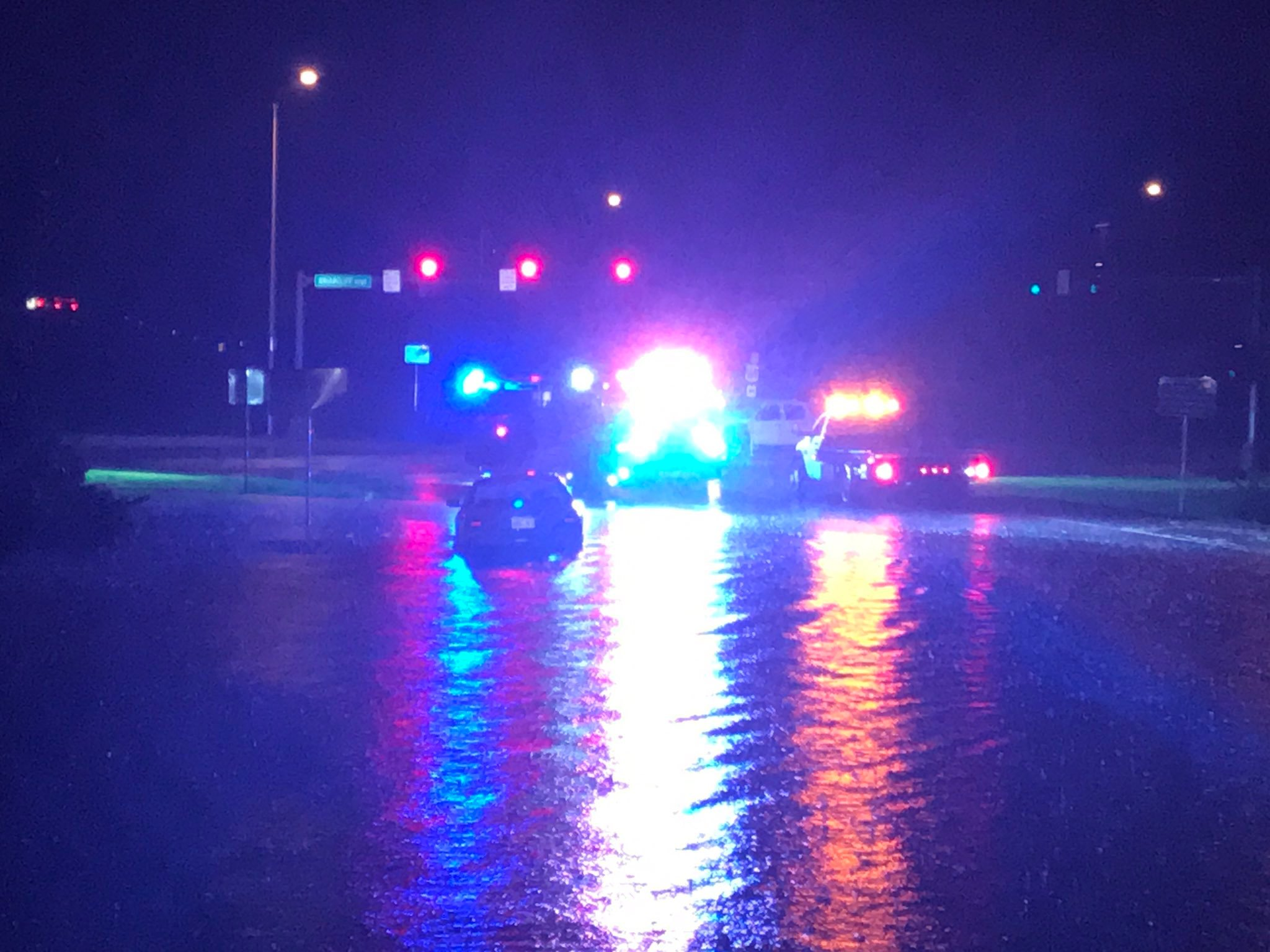 Emergency responders ask you avoid the area near Briarcliff and 169 after a water rescue. (KCTV5)