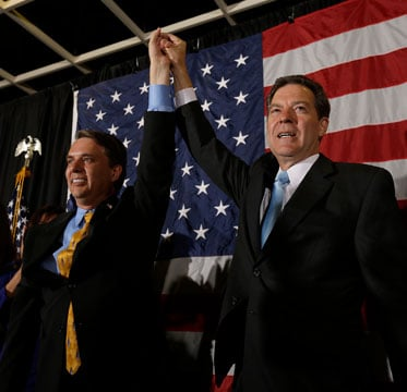 Jeff Colyer has been a loyal lieutenant governor to GOP Gov. Sam Brownback since 2011 and is preparing to become Kansas governor after nearly a decade of helping fellow conservative Republicans shape health care policy. (AP)