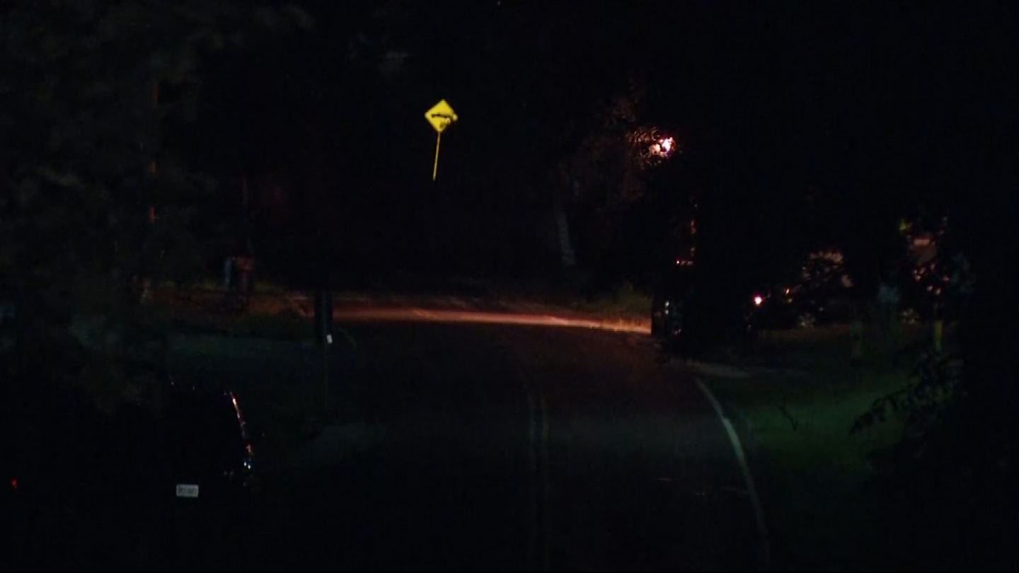 A view of the area where police were searching. (KCTV)