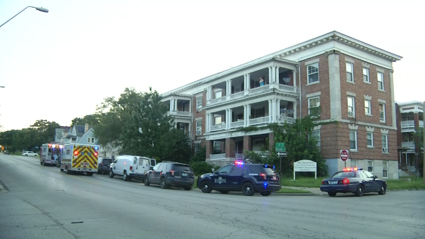 Nine days prior to this incident, the apartment had been burglarized. (KCTV)