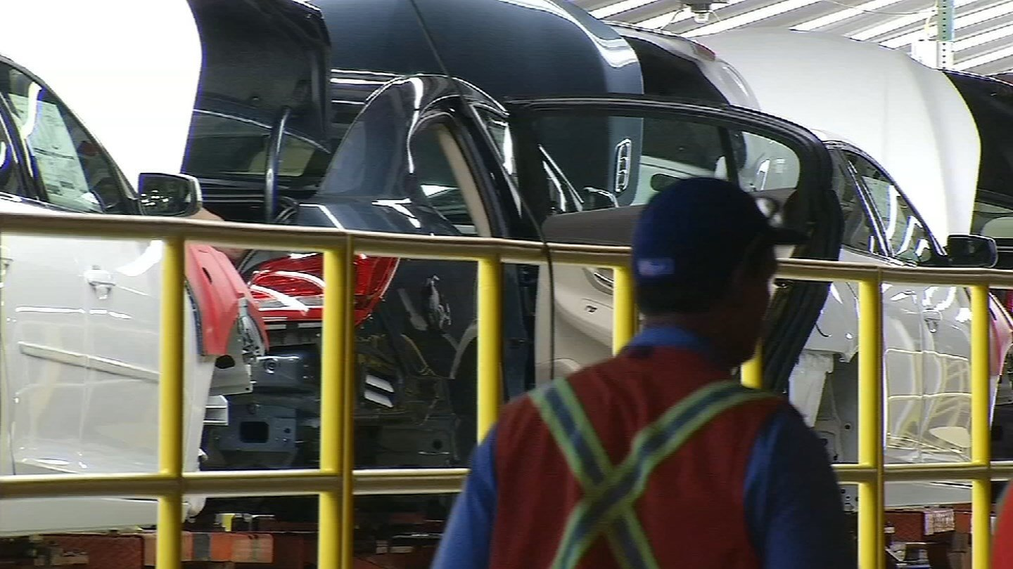 The General Motors plant in Fairfax is preparing to shut down for the second time this summer. (KCTV5)