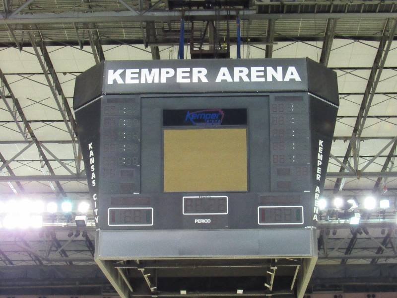 Kemper Arena is being sold piece-by-piece. (Equip-Bid Auctions)