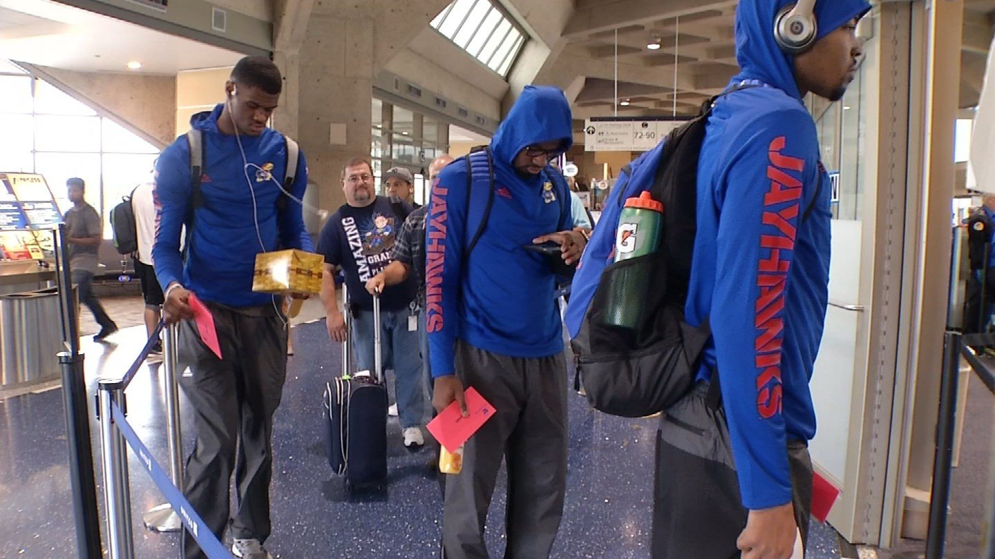 Every four years, the NCAA allows schools to travel abroad to play in an exhibition tournament, and along with the game themselves, the school can also practice in preparation for it. (KCTV5)