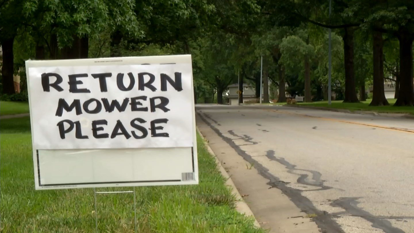 If your travels take you anywhere near 92nd Terrace and Roe Avenue, you may have noticed a sign along the road. (KCTV5)