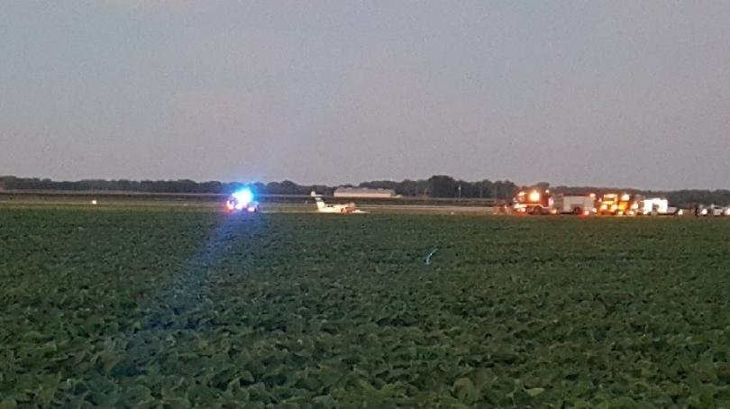 Plane crashes near Topeka's Billard Airport