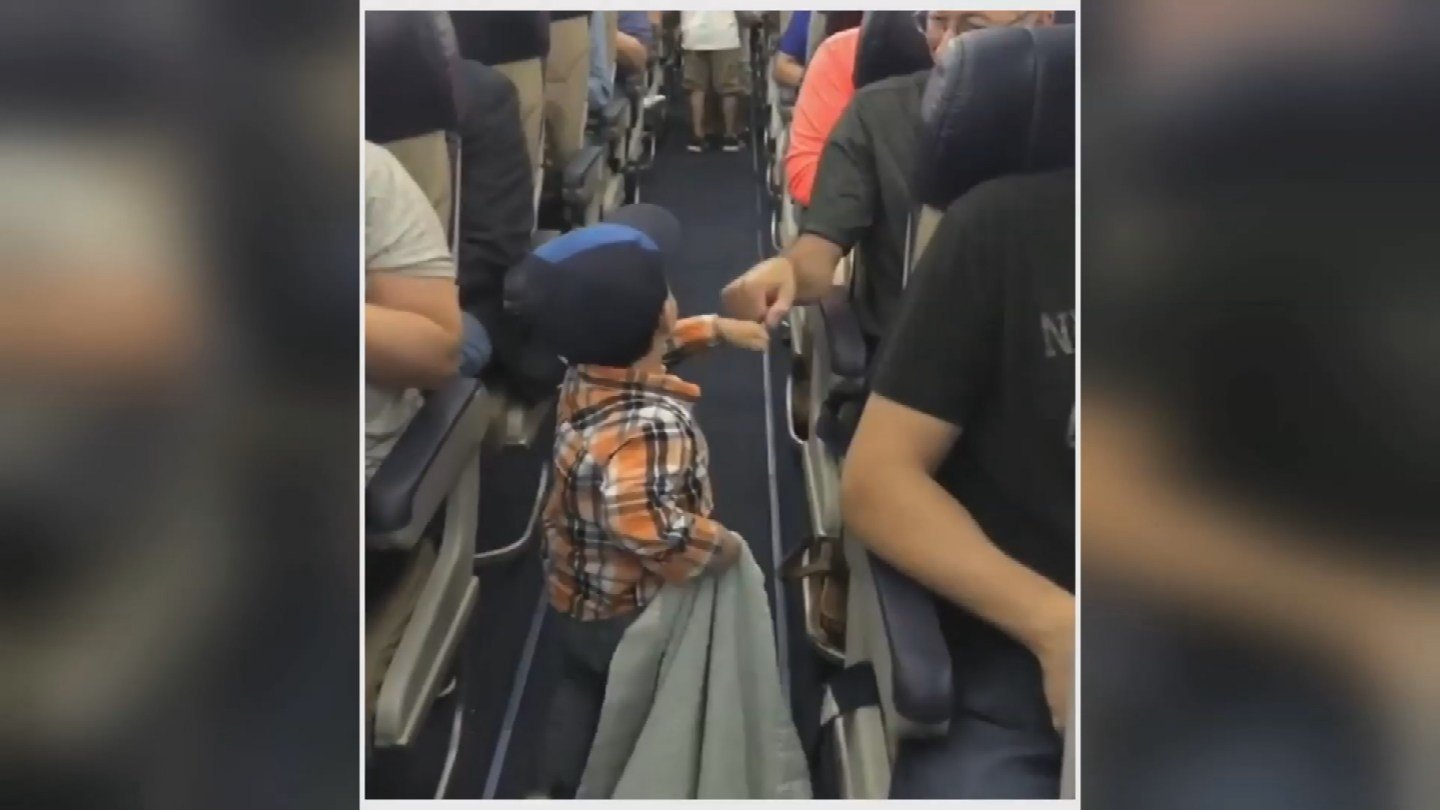 The summer has been filled with negative headlines about airline passengers.   But this week, an Overland Park family is making headlines for positive reasons. (Submitted)