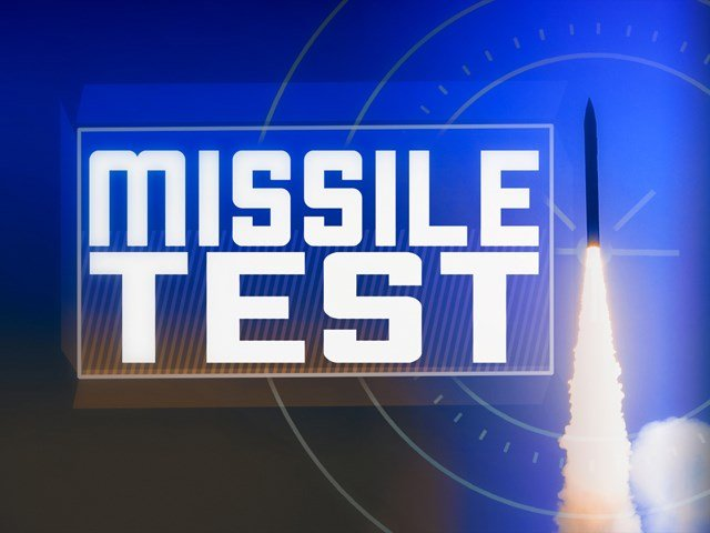 The unarmed Minuteman 3 missile was launched Wednesday morning from Vandenberg Air Force Base. (AP)