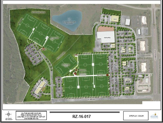 The $59 million complex will not only include 9 soccer fields but also retail shops, restaurants and two hotels. (KCTV5)