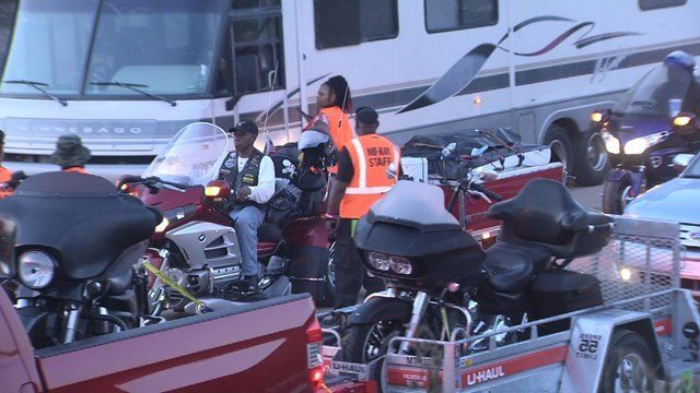 The five-day rally is expected to attract approximately 20,000 members of motorcycle clubs from around the United States. (KCTV5)