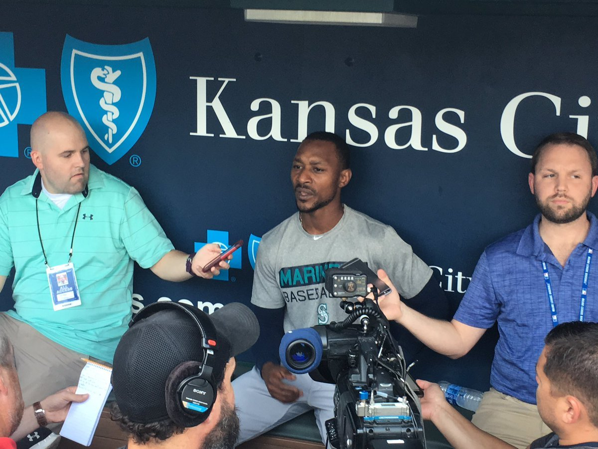 It is clear how much Jarrod Dyson loves Kansas City, the Royals and cherished his time in the metro. Dyson returns for the first time since the Kansas City Royals traded him back in January.(Andrew Carter/KCTV5 News)