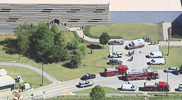 Authorities in Kansas City are investigating a suspicious package was found at an Internal Revenue Service building Friday morning. (KCTV5)