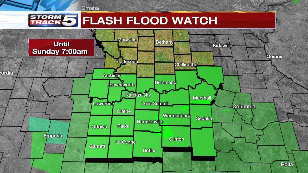 Flash Flood Warning issued for Pettis County
