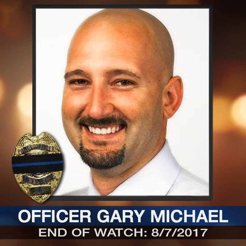 Officials say officer Gary Michael, 37, had been with the Clinton Police Department for less than a year. (KCTV5)