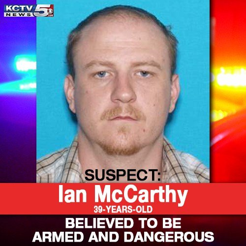 MSHP says they are looking for Ian McCarthy, 39, of Clinton, MO as a person of interest in the case. (KCTV5)