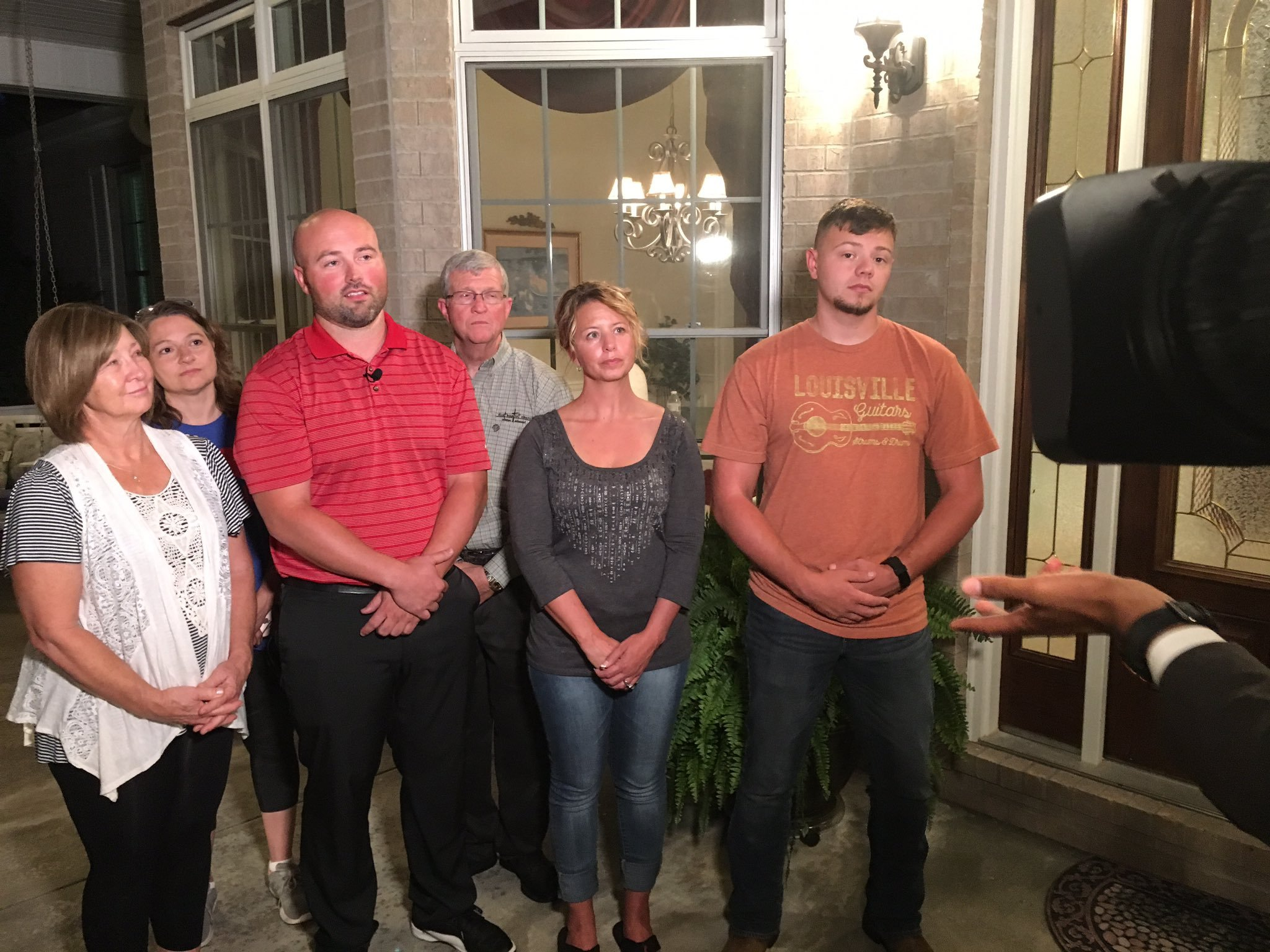 The family of fallen Clinton police officer Gary Michael is relieved after the arrest of suspected cop-killer Ian McCarthy. (KCTV5)