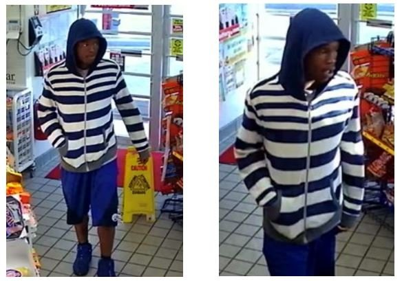 Authorities need help to identify an armed robber who stole cash and condoms from a Raytown gas station. (Raytown Police Department)