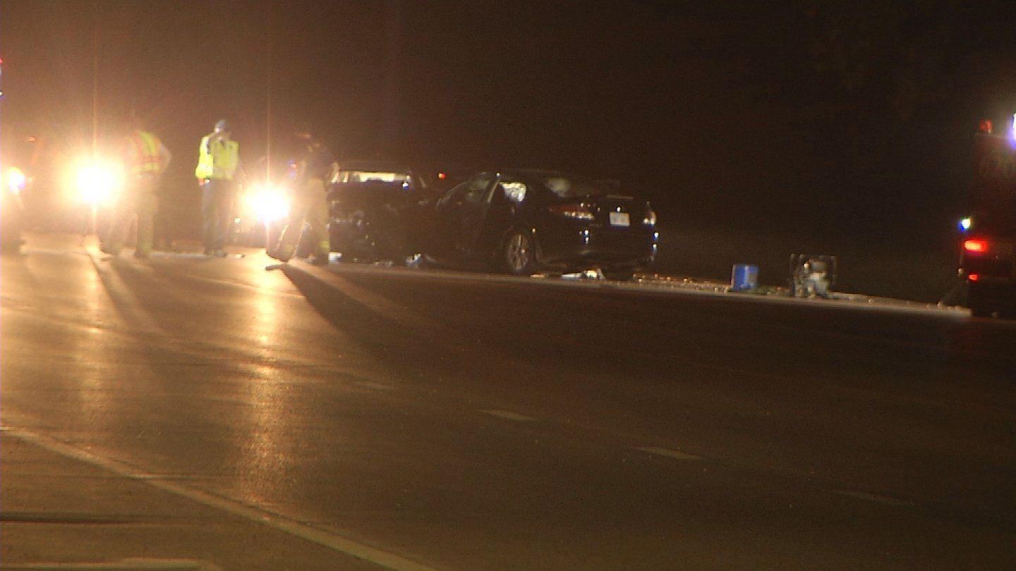 Three people have died and two children were hurt after a wreck on Kansas Highway 32 in Edwardsville. (KCTV5)