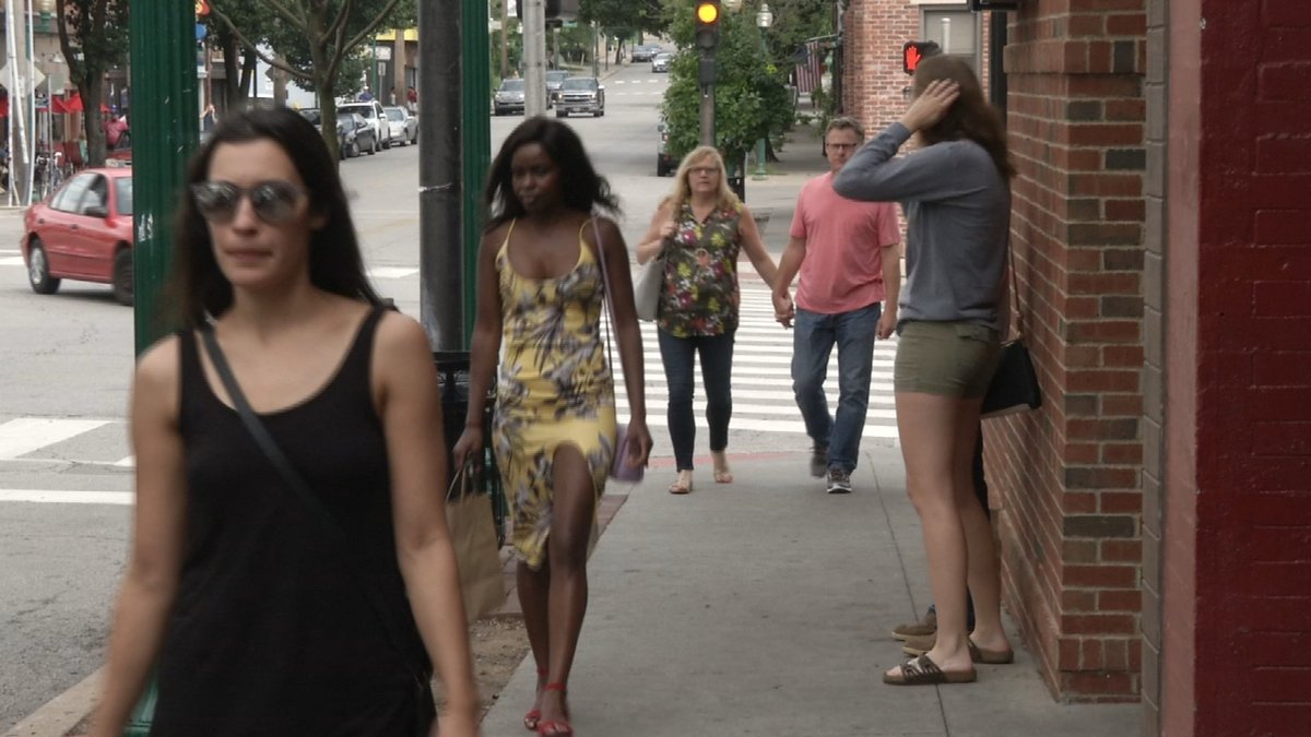 Not everyone likes the idea of privatizing streets in Westport. (Natalie Davis/KCTV)