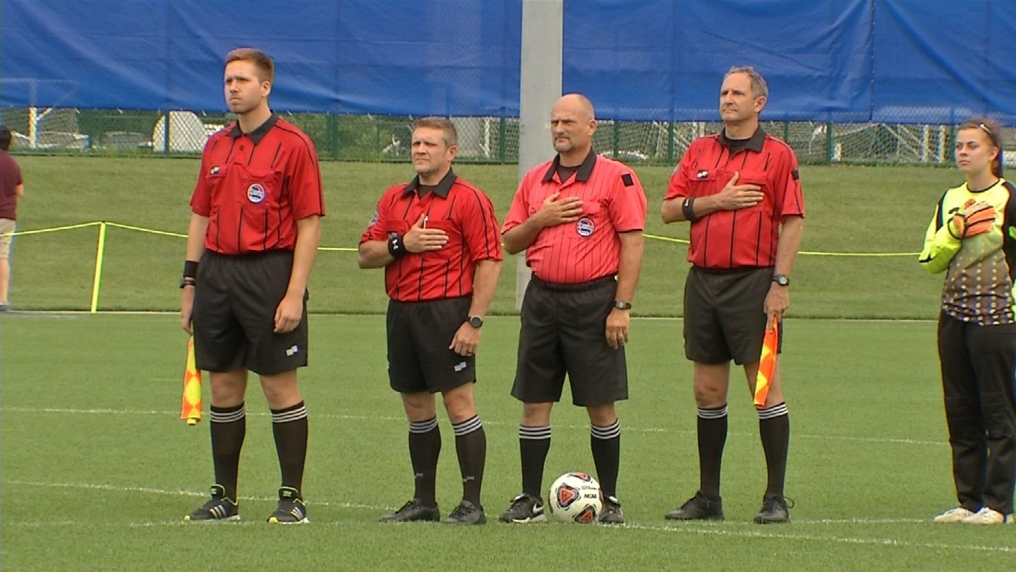 Before officials even step onto a court or a field, the odds are stacked against them. (KCTV5)