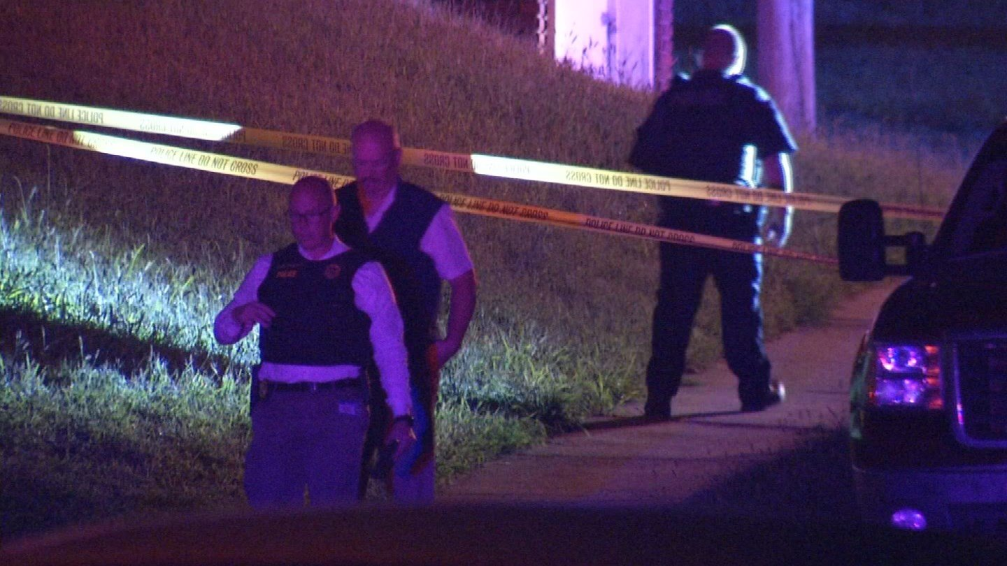 A teenage boy was killed Thursday night after he was shot in the chest, police said. (KCTV5)
