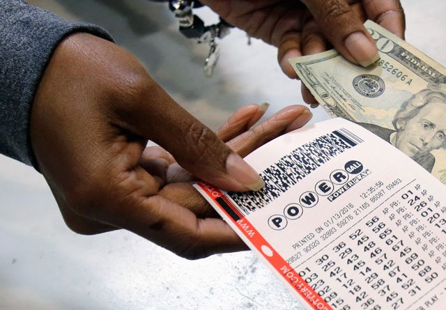 It is the fifth-largest jackpot prize ever offered in the game. The cash option is now $340.1 million. (AP)