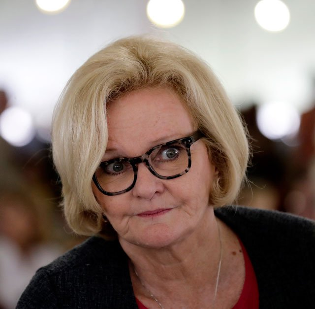 Sen. Claire McCaskill met Friday with government, education and private officials involved in ensuring the nation is prepared to protect food, agriculture and livestock from terrorism and infectious diseases. (AP)