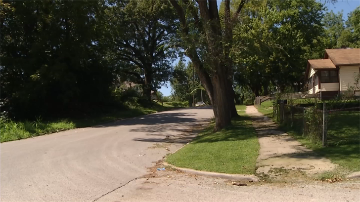 The area where the shooting happened. (KCTV)
